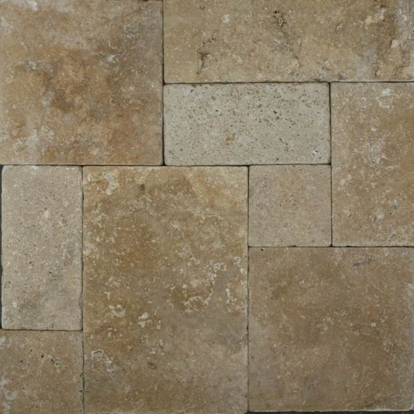 Variety Of Paver Stones Travertine pavers are usually more textured and filled with little holes or  grooves. Itu0027s also very durable.