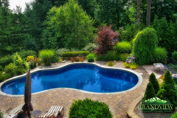 Lagoon Pools in Morristown, NJ | Grandview Landscape